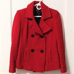 Tommy Hilfiger Wool Blend Pea Coat